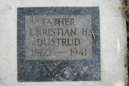 DUSTRUD, CHRISTIAN H. - Cass County, North Dakota | CHRISTIAN H. DUSTRUD - North Dakota Gravestone Photos