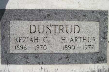 DUSTRUD, KEZIAH C. - Cass County, North Dakota | KEZIAH C. DUSTRUD - North Dakota Gravestone Photos