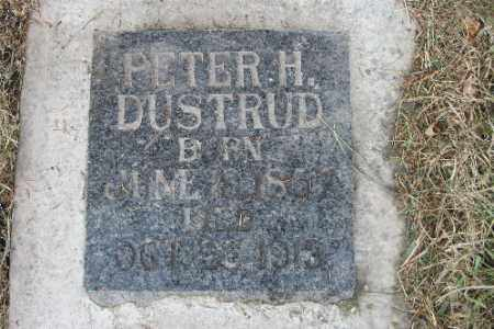 DUSTRUD, PETER H. - Cass County, North Dakota | PETER H. DUSTRUD - North Dakota Gravestone Photos