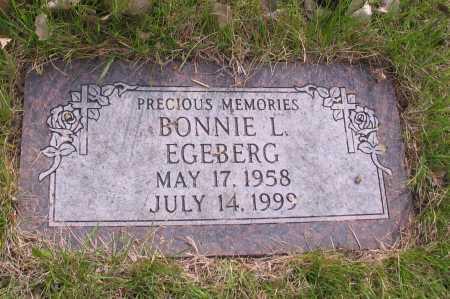 EGEBERG, BONNIE L. - Cass County, North Dakota | BONNIE L. EGEBERG - North Dakota Gravestone Photos