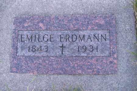 ERDMANN, EMILGE - Cass County, North Dakota | EMILGE ERDMANN - North Dakota Gravestone Photos