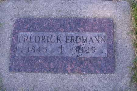 ERDMANN, FREDRICK - Cass County, North Dakota | FREDRICK ERDMANN - North Dakota Gravestone Photos