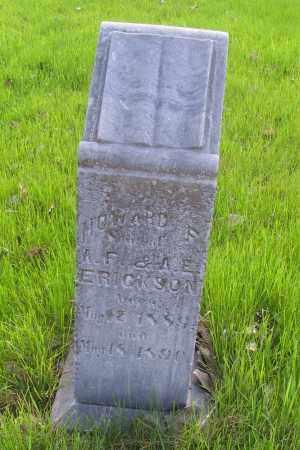ERICKSON, HOWARD - Cass County, North Dakota | HOWARD ERICKSON - North Dakota Gravestone Photos