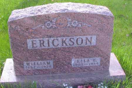 ERICKSON, WILLIAM - Cass County, North Dakota | WILLIAM ERICKSON - North Dakota Gravestone Photos