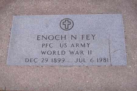 FEY, ENOCH N. - Cass County, North Dakota   ENOCH N. FEY - North Dakota Gravestone Photos