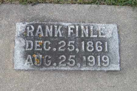 FINLEY, FRANK - Cass County, North Dakota | FRANK FINLEY - North Dakota Gravestone Photos