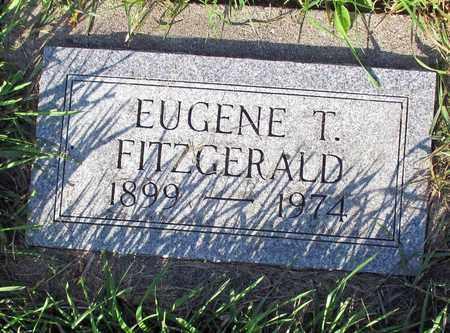 FITZGERALD, EUGENE T. - Cass County, North Dakota | EUGENE T. FITZGERALD - North Dakota Gravestone Photos