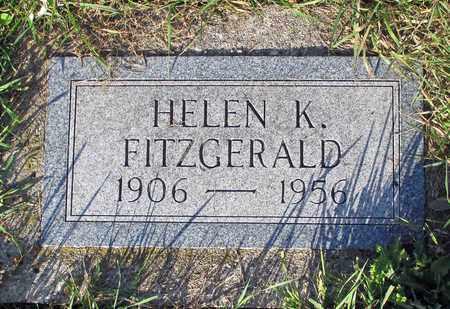 FITZGERALD, HELEN K. - Cass County, North Dakota | HELEN K. FITZGERALD - North Dakota Gravestone Photos