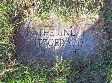 FITZGERALD, KATHERINE F. - Cass County, North Dakota | KATHERINE F. FITZGERALD - North Dakota Gravestone Photos