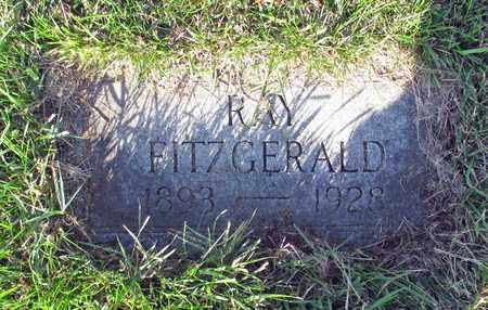 FITZGERALD, RAY - Cass County, North Dakota   RAY FITZGERALD - North Dakota Gravestone Photos