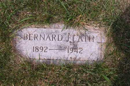 FLATH, BERNARD J. - Cass County, North Dakota | BERNARD J. FLATH - North Dakota Gravestone Photos