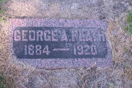 FLATH, GEORGE A. - Cass County, North Dakota | GEORGE A. FLATH - North Dakota Gravestone Photos