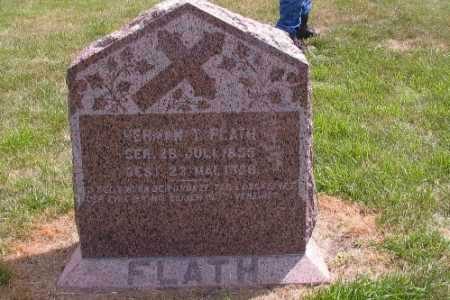 FLATH, HERMAN T. - Cass County, North Dakota | HERMAN T. FLATH - North Dakota Gravestone Photos