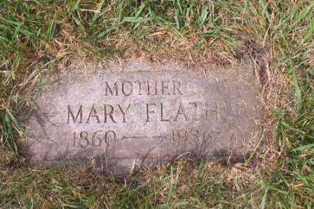 FLATH, MARY - Cass County, North Dakota   MARY FLATH - North Dakota Gravestone Photos