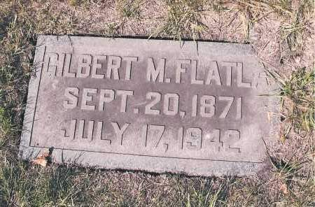FLATLA, GILBERT M. - Cass County, North Dakota | GILBERT M. FLATLA - North Dakota Gravestone Photos