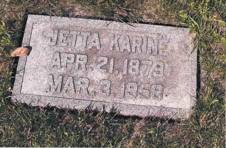 FLATLA, JETTA KARINE - Cass County, North Dakota   JETTA KARINE FLATLA - North Dakota Gravestone Photos