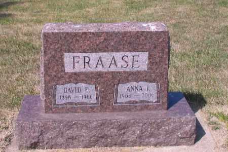 FRAASE, DAVID E. - Cass County, North Dakota   DAVID E. FRAASE - North Dakota Gravestone Photos