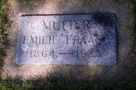 FRAASE, EMILIE - Cass County, North Dakota | EMILIE FRAASE - North Dakota Gravestone Photos
