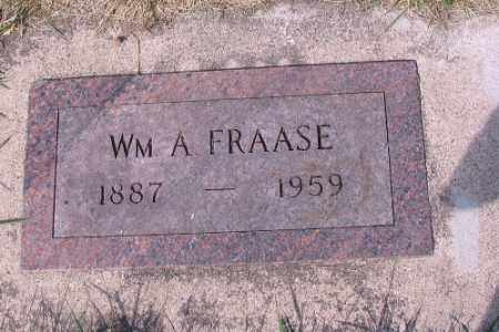 FRAASE, WM A. - Cass County, North Dakota | WM A. FRAASE - North Dakota Gravestone Photos