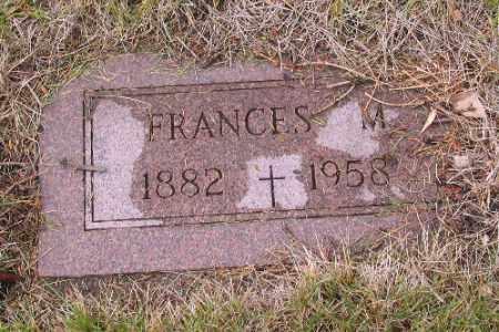 GALLAGHER, FRANCES M. - Cass County, North Dakota   FRANCES M. GALLAGHER - North Dakota Gravestone Photos