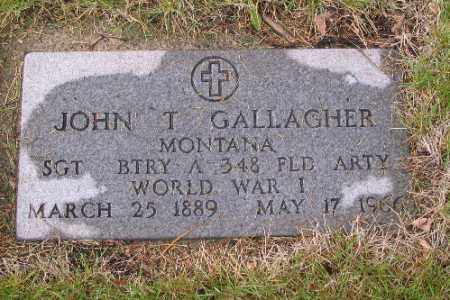 GALLAGHER, JOHN T. - Cass County, North Dakota | JOHN T. GALLAGHER - North Dakota Gravestone Photos