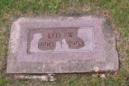 GALLAGHER, LEO W. - Cass County, North Dakota   LEO W. GALLAGHER - North Dakota Gravestone Photos