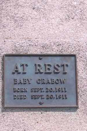 GRABOW, BABY - Cass County, North Dakota | BABY GRABOW - North Dakota Gravestone Photos