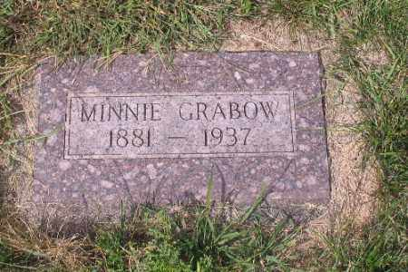 GRABOW, MINNIE - Cass County, North Dakota | MINNIE GRABOW - North Dakota Gravestone Photos