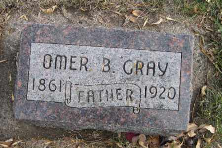 GRAY, OMER B. - Cass County, North Dakota | OMER B. GRAY - North Dakota Gravestone Photos