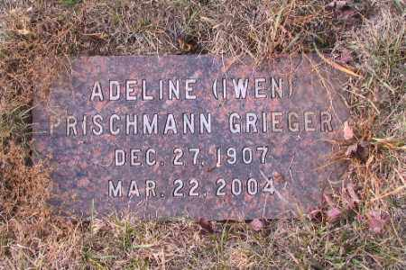 GRIEGER, ADELINE - Cass County, North Dakota | ADELINE GRIEGER - North Dakota Gravestone Photos
