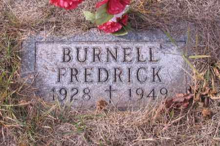 GRIEGER, BURNELL FREDRICK - Cass County, North Dakota   BURNELL FREDRICK GRIEGER - North Dakota Gravestone Photos
