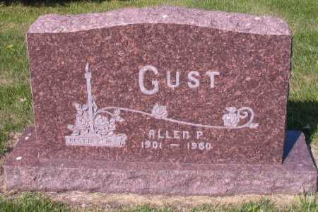 GUST, ALLEN P. - Cass County, North Dakota | ALLEN P. GUST - North Dakota Gravestone Photos