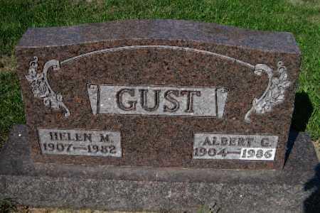 GUST, HELEN M. - Cass County, North Dakota | HELEN M. GUST - North Dakota Gravestone Photos