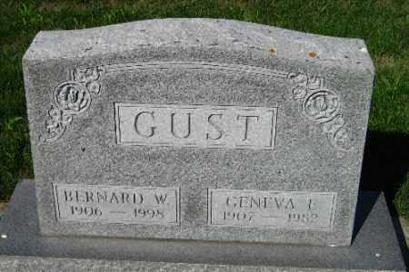 GUST, GENEVA L. - Cass County, North Dakota | GENEVA L. GUST - North Dakota Gravestone Photos