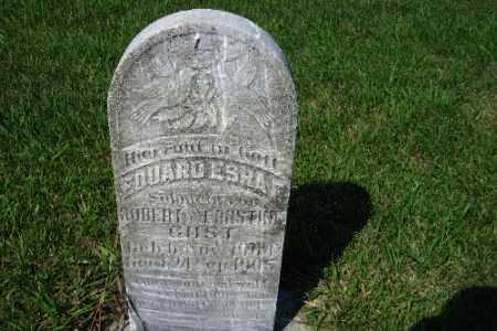 GUST, EDWARD ESRA - Cass County, North Dakota | EDWARD ESRA GUST - North Dakota Gravestone Photos