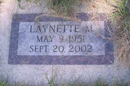 GUST, LAYNETTE M. - Cass County, North Dakota   LAYNETTE M. GUST - North Dakota Gravestone Photos