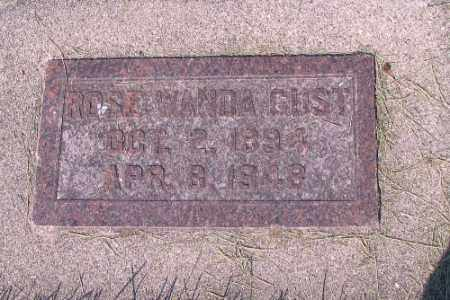 GUST, ROSE WANDA - Cass County, North Dakota | ROSE WANDA GUST - North Dakota Gravestone Photos