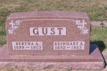GUST, REINHART A. - Cass County, North Dakota | REINHART A. GUST - North Dakota Gravestone Photos