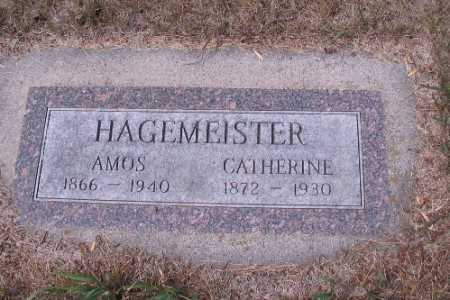 HAGEMEISTER, AMOS - Cass County, North Dakota | AMOS HAGEMEISTER - North Dakota Gravestone Photos