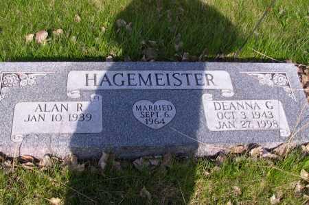HAGEMEISTER, DEANNA C. - Cass County, North Dakota | DEANNA C. HAGEMEISTER - North Dakota Gravestone Photos