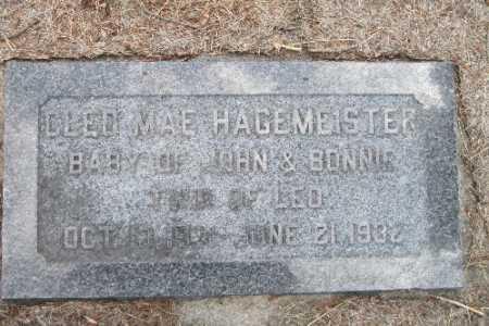 HAGEMEISTER, OLEO MAE - Cass County, North Dakota | OLEO MAE HAGEMEISTER - North Dakota Gravestone Photos
