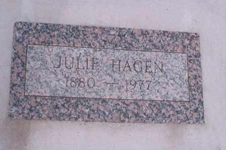 HAGEN, JULIE - Cass County, North Dakota | JULIE HAGEN - North Dakota Gravestone Photos