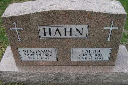 HAHN, LAURA - Cass County, North Dakota | LAURA HAHN - North Dakota Gravestone Photos