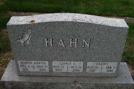 HAHN, GEORGE G. - Cass County, North Dakota | GEORGE G. HAHN - North Dakota Gravestone Photos