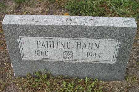 HAHN, PAULINE - Cass County, North Dakota | PAULINE HAHN - North Dakota Gravestone Photos