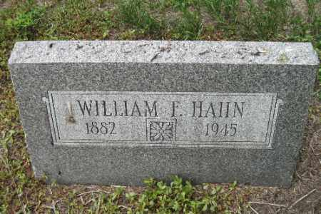 HAHN, WILIAM - Cass County, North Dakota   WILIAM HAHN - North Dakota Gravestone Photos