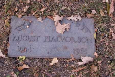 HALVORSON, AUGUST - Cass County, North Dakota | AUGUST HALVORSON - North Dakota Gravestone Photos