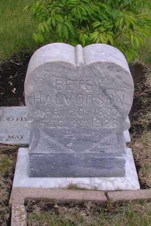 HALVORSON, BETSY - Cass County, North Dakota | BETSY HALVORSON - North Dakota Gravestone Photos