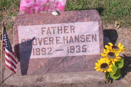 HANSEN, GROVER E. - Cass County, North Dakota | GROVER E. HANSEN - North Dakota Gravestone Photos