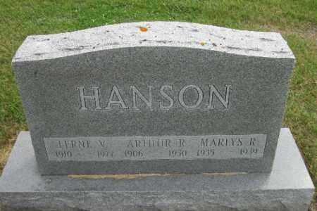 HANSON, MARLYS R. - Cass County, North Dakota | MARLYS R. HANSON - North Dakota Gravestone Photos